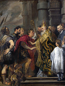 Theodosius and Ambrose