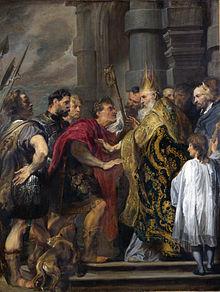 Theodosius and Ambrose