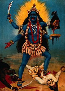 Kali, unofficial deity of Isis