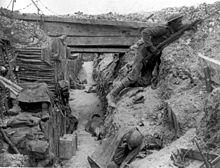 British trench 1916
