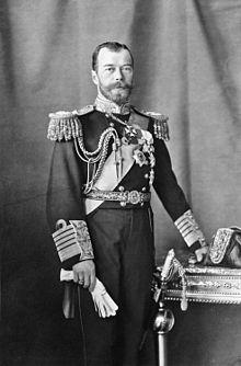 Russian Czar Nicholas II