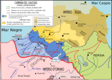 The Caucasus front