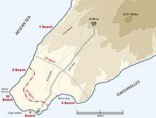 Cape Hellas, Gallipoli