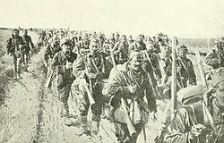 Serbian infantry