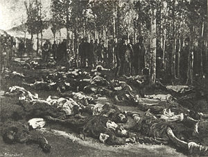 Victims in Erzurum 1895