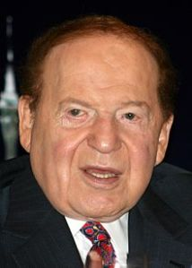 Sheldon Adelson - part owner of the Republic Party and Israeli agent