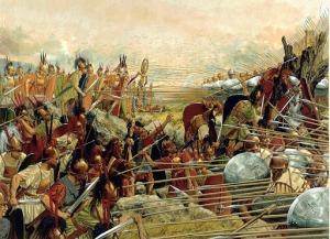 Roman legions vs. Macedonian phalanx