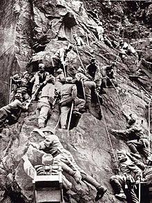 Fighting on the Italian front - Austrians