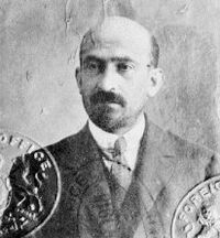 Chaim Weizmann, leader of  British Zionism 1915