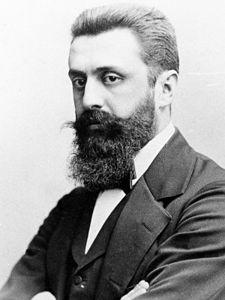 Theodor Herzel, founder of the World Zionist Organization 1897