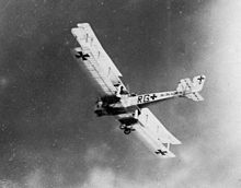 German Gotha strategic bomber