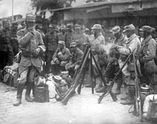 French soldiers at Salonika