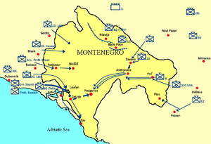 The Montenegro campaign