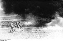 German flame throwers