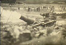 French heavy mortar