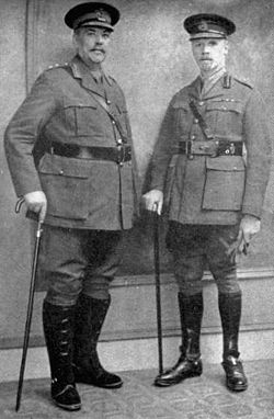 General Jan Smuts (right)