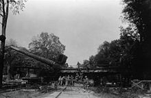German railway gun