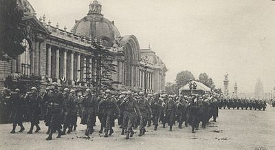 Paris in 1916