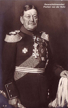 Golz Pasha in his Field Marshal's uniform