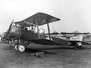 Early 1916: British Sopwith 1 1/2 Strutter