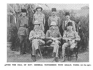 After the fall: Townshend with Kahalil Pasha