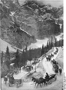 Austrian supply line