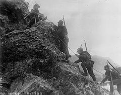 Italian troops