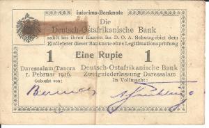 Interims-Banknote - obverse