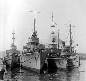 German destroyers (torpedo boats)