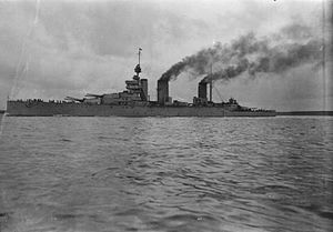HMS Lion - Beatty's falgship