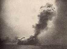 HMS Queen Mary blows up