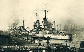 The High Seas Fleet at Wilhelmshaven
