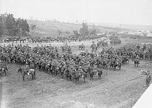Indian cavalry at Bazentine