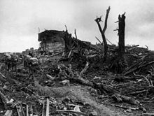 Pozières- captured German bunker