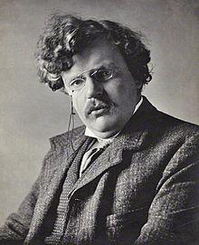G.K. Chesterton 1874-1936