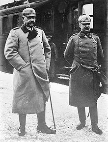 Hindenburg and Ludendorff