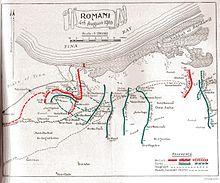 Turkish advance and retreat in Sinai