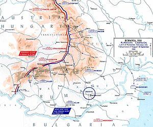 Romanian invasion of Transylvania