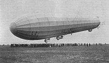 A Zeppelin airship