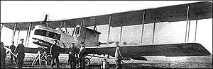 The German Gotha bomber