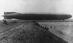 A Schütte-Lanz airship