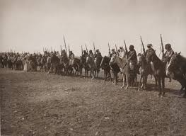 Arab mounted troops