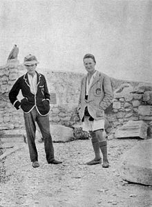 Woolley and Lawrence at Carchemish 1913