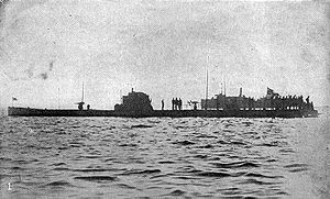 U-53 in Newport harbor