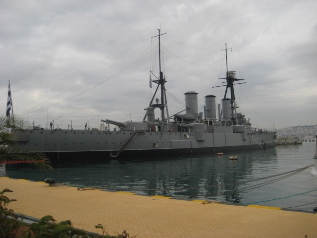 Greek capital ship