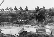 British cavalry at Ancre