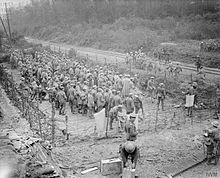 German prisoners at Ancre