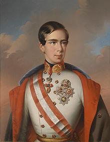 Franz Joseph I 1851