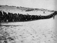 Turkish POWs on the road to El Arish