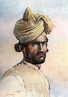 A sepoy of the 82nd Punjabis